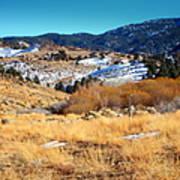 Nevada Landscape Art Print