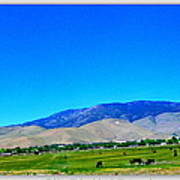 Nevada Range Art Print