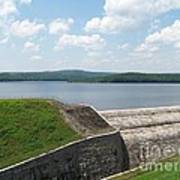 Neversink Reservoir Dam Art Print