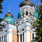 Nevsky Cathedral - Tallin Estonia Art Print
