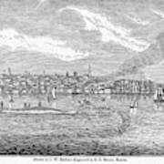 New Bedford, 1839 Art Print