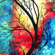 New Beginnings Original Art By Madart Art Print by Megan Duncanson