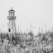 New Buffalo Lighthouse In Southwestern Michigan Art Print
