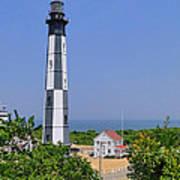 New Cape Henry Lighthouse Vertical Art Print