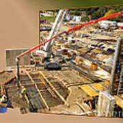 New Commercial Construction Site 02 Art Print