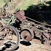 New Crop Antiquated Plow Art Print