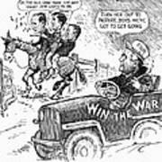 New Deal: Cartoon, 1943 Art Print