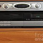 New Dvr With Old Vcr Art Print