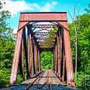 New England Bridge Art Print