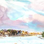 New England Landscape No.216 Art Print by Sumiyo Toribe