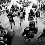 New England Patriots V New York Giants Art Print