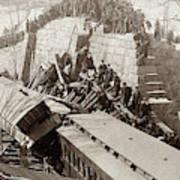 New England Train Wreck Art Print