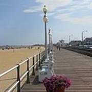 New Jersey Boardwalk Art Print