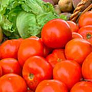 New Jersey Farm Market Goodness Art Print