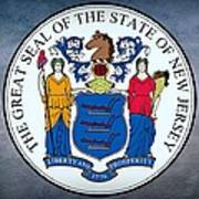 New Jersey State Seal Art Print