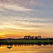 New Jersey Sunset Panoramic Art Print