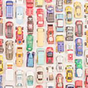 New Jersey Traffic Jam Art Print