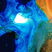 New Life - Abstract Landscape Art Art Print