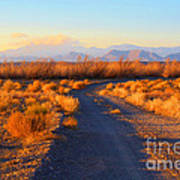 New Mexico Back Country Road Art Print