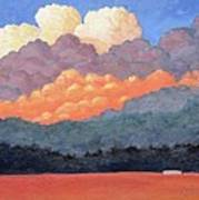 New Mexico Cloudscape  Art Print