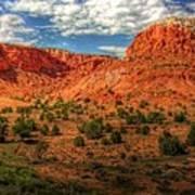 New Mexico Mountains 2 Art Print
