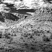 New Mexico Mountains Art Print