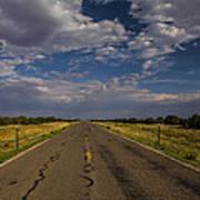 New Mexico Road 7 Art Print