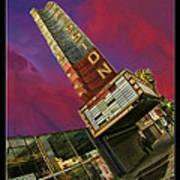 New Mission Theater San Francisco Art Print