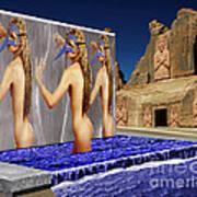 New Monument For The 3 Goddesses Art Print