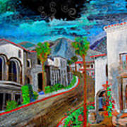 New Old Town La Quinta Art Print