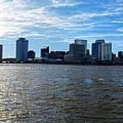 New Orleans - Skyline Of New Orleans Art Print