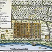 New Orleans, 1718-20 Art Print