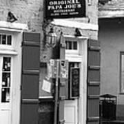 New Orleans - Bourbon Street 15 Art Print