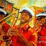 New Orleans Brass Band Art Print