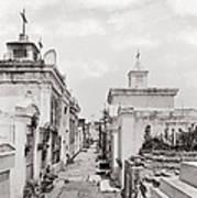 New Orleans: Cemetery Art Print