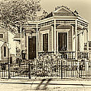 New Orleans Charm 2 Art Print