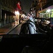 New Orleans - City At Night - 121210 Art Print