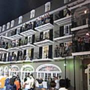 New Orleans - City At Night - 12122 Art Print