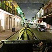 New Orleans - City At Night - 121222 Art Print