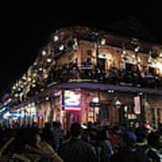 New Orleans - City At Night - 12123 Art Print