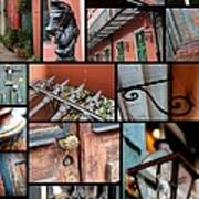 New Orleans Collage 2 Art Print