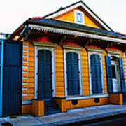 New Orleans Creole Cottage Art Print