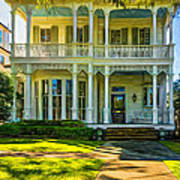 New Orleans Home - Paint Art Print