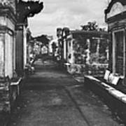 New Orleans Lafayette Cemetery Art Print by Christine Till