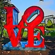 New Orleans Love 3 Art Print