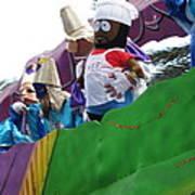 New Orleans - Mardi Gras Parades - 121210 Art Print