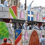 New Orleans - Mardi Gras Parades - 1212102 Art Print