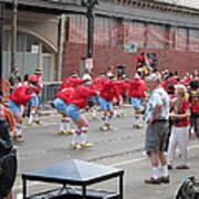 New Orleans - Mardi Gras Parades - 1212105 Art Print