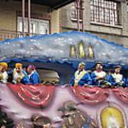 New Orleans - Mardi Gras Parades - 1212113 Art Print