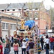 New Orleans - Mardi Gras Parades - 1212114 Art Print